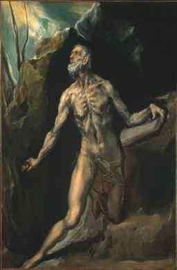 Jerónimo, por El Greco