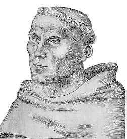 Martín Lutero, fraile